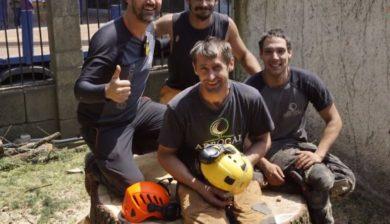 tala de cedro por seguridad en Pontevedra_equipo arbogal