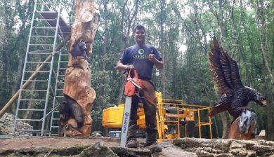 Eugenio Linares_arte en madera